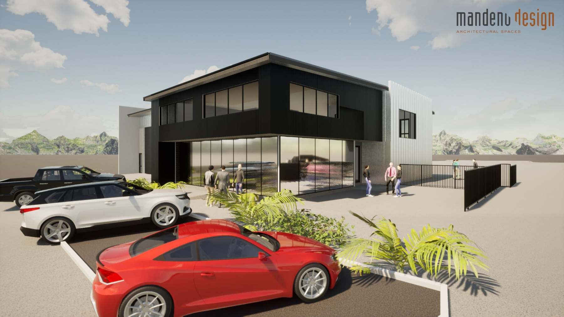 New office space and cafe at Dockland 5 Marine